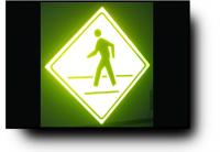 Illuminated Pedestrian Crossing